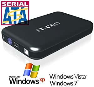 "IT735U3 e-SATA / USB 3.0 External Hard Drive Enclosure for 3.5"" SATA HDD w/ USB3 & e-SATA Cables"