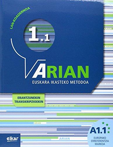 Arian A1.1. Lan-koadernoa: (+erantzunak) por Batzuen artean