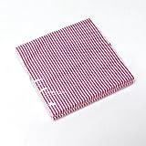 20 St. Servietten Streifen gestreift 3-lagig 33x33cm Papierservietten Tissue Serviette, Farbe:rosa/weiß