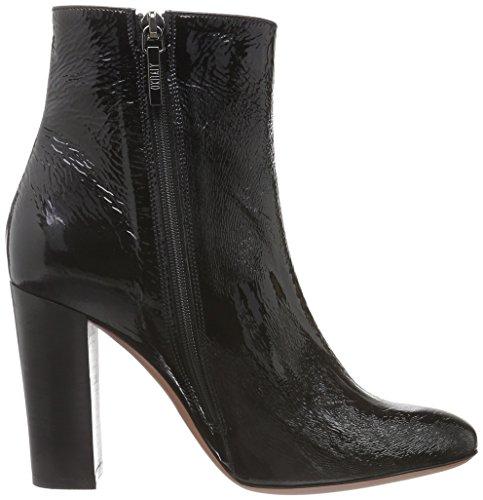 Oxitaly Damen Roxy 945c Chelsea Boots Schwarz (Nero)