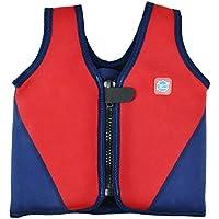 Splash About BJR1 - Chaleco flotador para niños, color rojo/azul marino, 1-3 años