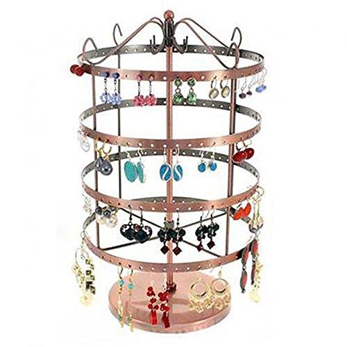 Présentoirs pour Bijoux Tourniquet Boucles d oreilles (96 Paires) Cuivre 3b6e1d517bd
