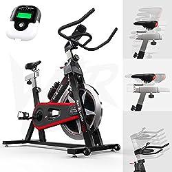 We R Sports Aerob Ausbildung Zyklus/Übung Fahrrad Innen- Radfahren Maschine - Schwer Pflicht Rahmen Mit 13kg Schwungrad