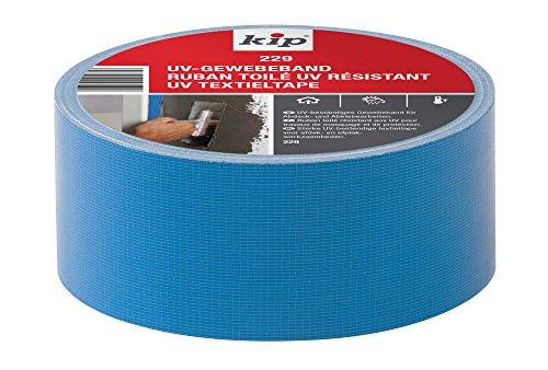 Kip 222358 Gewebeband 229-35, 50 mm x 25 m, Blau