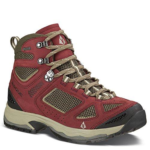 Vasque Breeze III GTX Boot - Women's Red Mahogany / Brown Olive 9 (Gtx Boot Breeze)