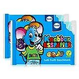 Küchle Knabber Esspapier blau Tutti Frutti Geschmack 25g Essoblaten (2er Pack)