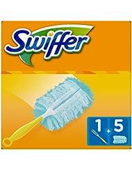 Swiffer Duster Kit Spolverino con 5 Panni di Ricambio, 5 Pezzi