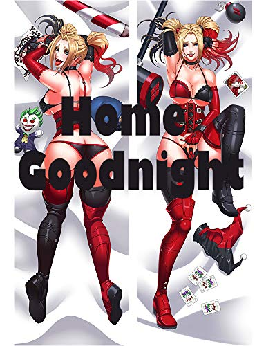 (Home Goodnight Harley Quinn 2 Way Tricot 160 x 50cm(62.9in x 19.6in) Kissenbezug)