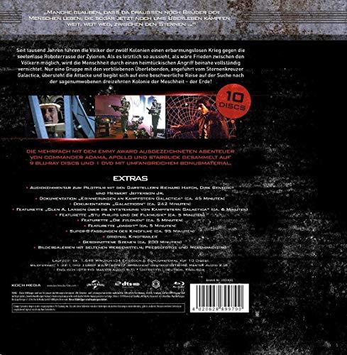 Kampfstern Galactica - Superbox - die komplette TV-Serie - 13 DVD Box