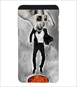 PrintDhaba Funny Image D-3959 Back Case Cover for SAMSUNG GALAXY NOTE 5 EDGE (Multi-Coloured)