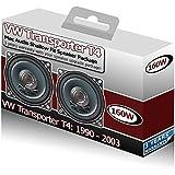 Mac Audio - Kit de altavoces para salpicadero de VW Transporter T4, 10cm, 160W