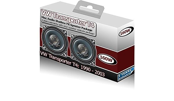 Mac Audio Vw Transporter T4 Armaturenbrett Lautsprecher Elektronik
