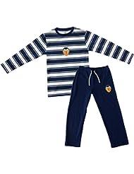 Valencia CF Pijvcf Pijama, Bebé-Niños, Multicolor (Blanco/Azul), 14