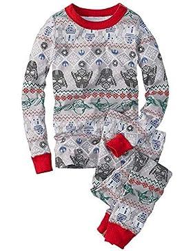 Hzjundasi Familie Matching Weihnachten Pyjama Set Schlafanzüge - Xmas Lange Ärmel Drucken Tops und Hose Nachtwäsche...