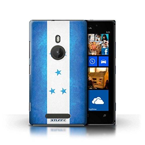 Kobalt® Imprimé Etui / Coque pour Nokia Lumia 925 / Royaume-Uni/Britannique conception / Série Drapeau Honduras