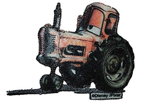 Preisvergleich Produktbild Cars - Traktor 8 cm * 6,3 cm Bügelbild Tractor Rennwagen Lightning Mc Queen