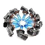 10xStück HB4-51W - 9006 - P22d - 12V Xenon Optik Lights - Halogen Auto Lampen für Abblendlicht Fernlicht Zusatzscheinwerfer und Nebelscheinwerfer/chiavi