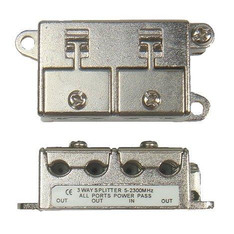 Sat BK 3 Fach Verteiler / Splitter 5-2300 MHz für Unterputz