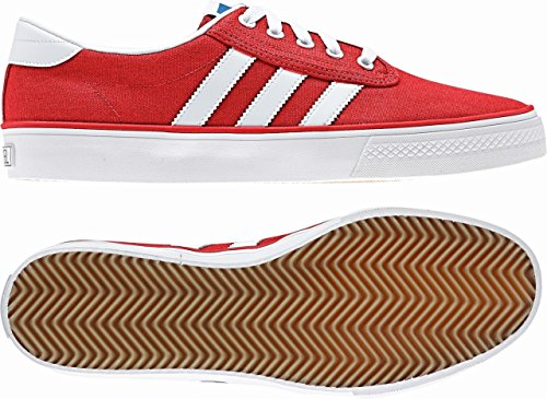 adidas Kiel, Sneakers da Uomo - Rot (Collegiate Red/Running White/Bluebird)
