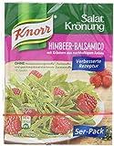 Knorr Salatkrönung Himbeer Balsamico Dressing, 15er Pack (15 x 52 ml)