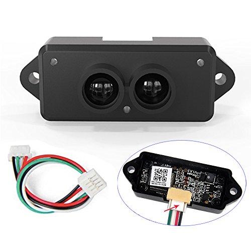 RCmall Lidar Entfernungsmesser-Sensor-Modul Einpunkt-TFmini Mikro-Rangiermodul Lidar Detektoren mit Kabel für Arduino Raspberry Pi Pixhawk