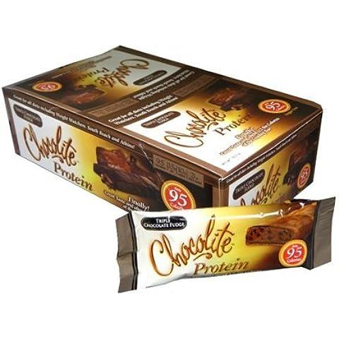 Chocolite Protein Bar, Triple Chocolate Fudge, 16 Bars, 1.20 oz