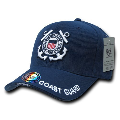 Rapiddominance Coast Guard The Legend Military Cap, Navy by Rapid Dominance -