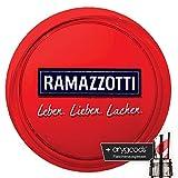 Ramazzotti Glas/Gläser Servier Tablett Kellner gummier Gastro Bar Deko NEU + anygoods Flaschenausgiesser