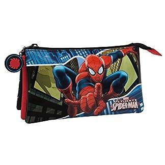 Marvel Spiderman Neceser de Viaje, 1.32 Litros, Color Azul