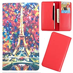 DooDa - For Lava Iris 460 PU Leather Designer Fashionable Fancy Case Cover Pouch With Card & Cash Slots & Smooth Inner Velvet