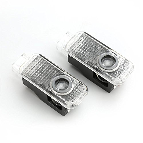 2 Stücke Auto Tür LED-Beleuchtung Eintrag Projektor Courtesy Willkommen Lampe Schatten Logo Licht Einfach zu installierenAudi A1 A3 Q5 A4 A7 A5 A6 Q3 Q7 A8 R8 Sline TT