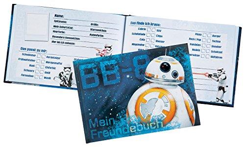 Undercover SWMK7293 Kindergartentasche, Star Wars, ca. 21 x 22 x 8 cm Freundebuch A5