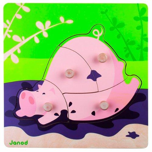 Janod Puzzle Cochon