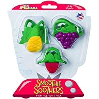 Baby Banana Smoothie Soothers Fruit Teether 3 Pl - ukpricecomparsion.eu