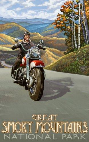 Northwest Art Mall Great Smoky Mountains National Park North Carolina Wandkunst, 28 x 43 cm