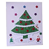 Arbre de Noël Motif Style Autocollants parentaux / Parent-enfant Divertissement
