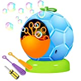 UTTORA Automatic Bubble Machine Toy for Kids, Durable Soap Bubble Blower Over 500