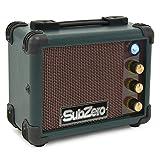 Micro Ampli SubZero pour ukulélé par Gear4music Vintage vert