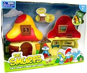 Maison champignon de papa schtroumpf les schtroumpfs - Schtroumpf maison ...