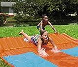 Bestway 5.5 m H2O Go! Triple Slider Water Slide (Orange/Blue)