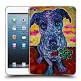 Head Case Designs Offizielle Mad Dog Art Gallery Jack Russel Hunde 4 Soft Gel Hülle für iPad Mini 1 / Mini 2 / Mini 3