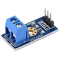 4 x 25 V Voltage Detection Sensors Transducer Module 3-Terminal Sensor for Arduino