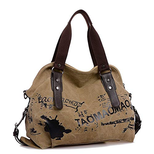 TianWlio Damen Klassische Handtasche Retro Tasche mit Großem Fassungsvermögen Handtasche Stundent Messenger Taschen Handtasche Winged Schultertasche Groß Umhängetasche Taschen