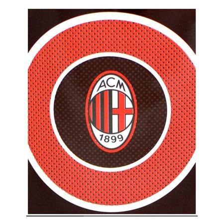 AC Milan Bulls Eye FLEECE DECKE–Mehrfarbig
