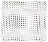Träumeland TT80205 Wickelauflage Weiss mit grauen Sternen PVC-frei, 75 x 85 cm, mehrfarbig