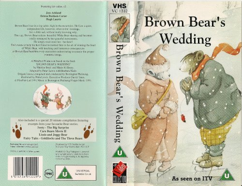 Preisvergleich Produktbild Brown Bear's Wedding [VHS] [UK Import]