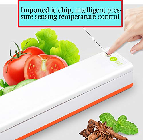 LinLinYi Vakuumversiegelungsmaschine, automatische Lebensmittelvakuumverpackungsmaschine Kleine Qualität Kleiner Haushalt -29Cm,B