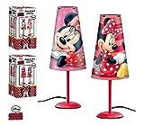 Nachttischlampe konisch Disney Minnie Maus Kind Zimmer in rosa - LQ2027