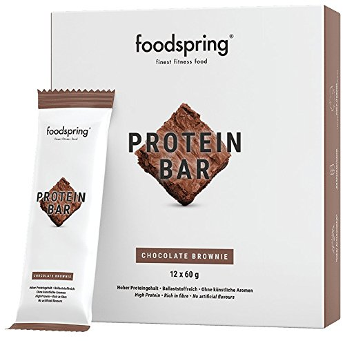 foodspring - Barritas proteicas - Sabor Brownie