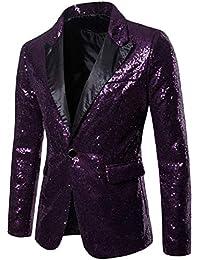 Amazon.it  Viola - Abiti e giacche   Uomo  Abbigliamento 3ecb0828a00